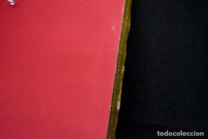 Arte: Espléndido cuadro de pintura cuzqueña con remate en hilo de oro - Foto 15 - 244230975