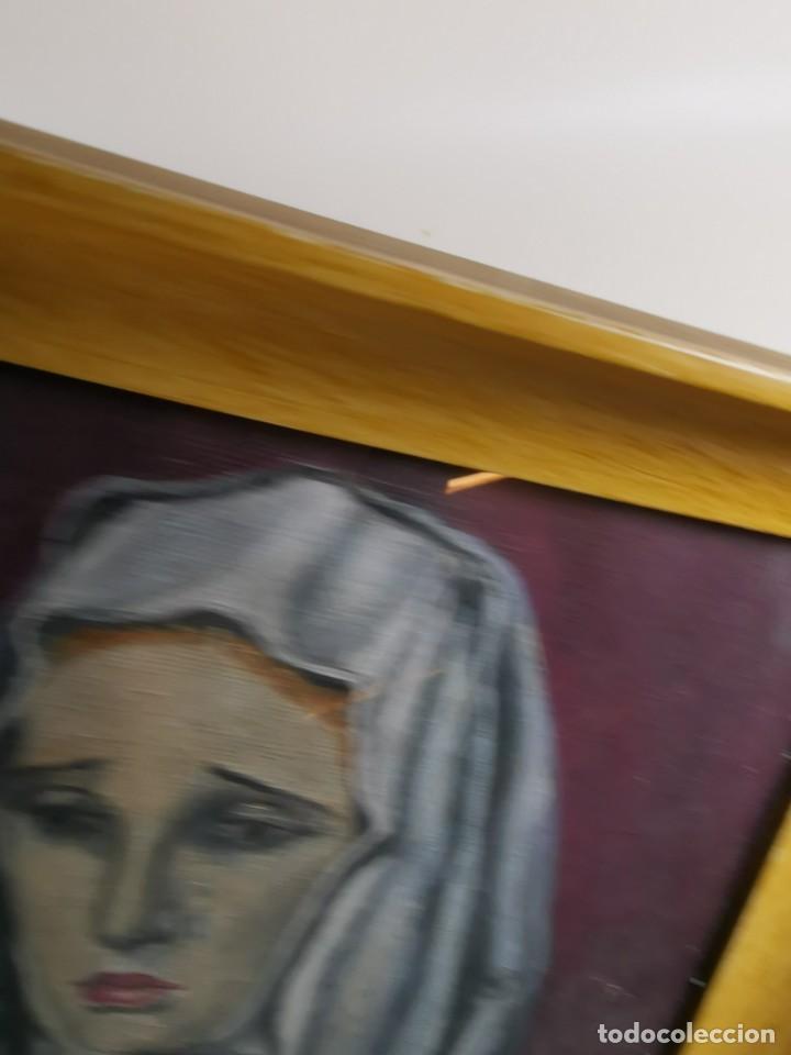 Arte: OLEO VIRGEN LLORANDO--DOLORES - Foto 11 - 244418280