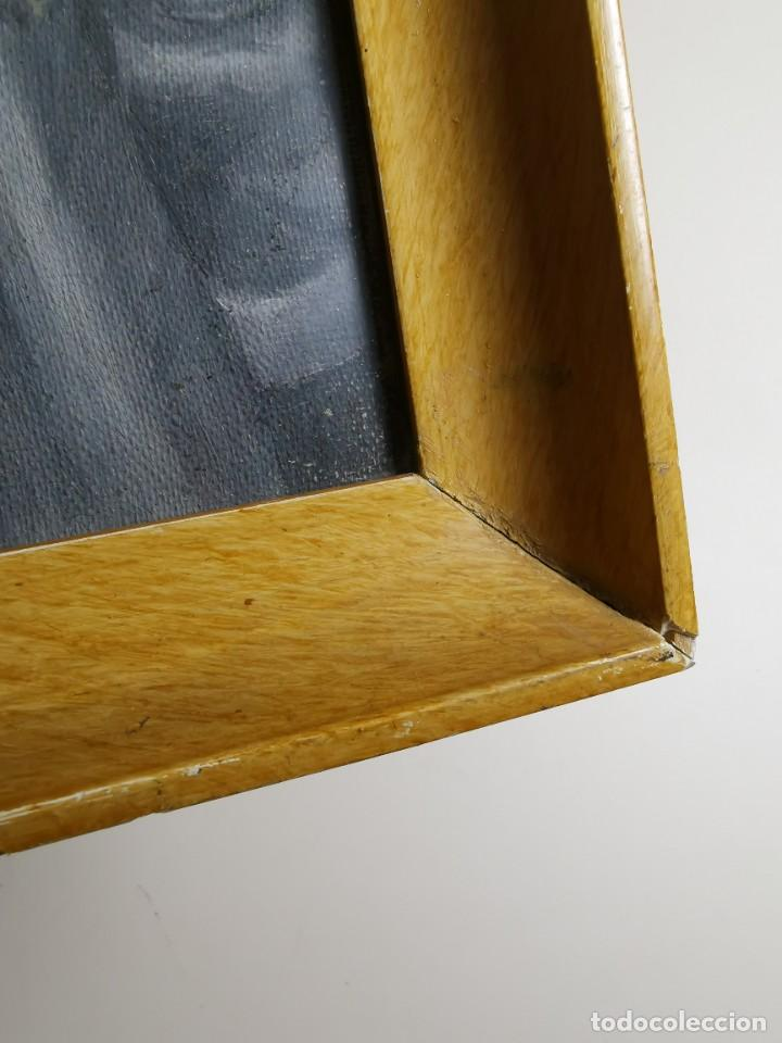 Arte: OLEO VIRGEN LLORANDO--DOLORES - Foto 14 - 244418280