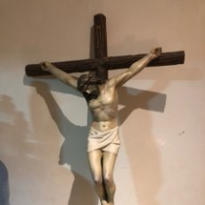 Arte: BONITO CRISTO CRUCIFICADO, AÑOS 50. Lote 253480910