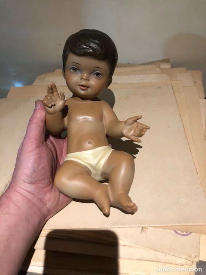 BONITO NIÑO JESÚS, OJOS DE CRISTAL (Arte - Arte Religioso - Escultura)