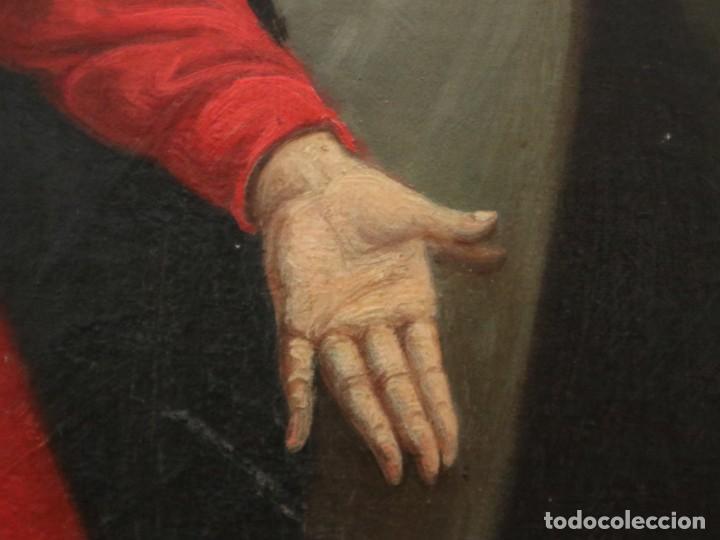 Arte: Joan Riutort y Arbós (Mallorca, S. XIX). Escena religiosa. Ó/L. Mide 82 x 62 cm. - Foto 16 - 244446860