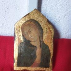 Arte: ANTIGUO ICONO RELIGIOSO. Lote 244514210