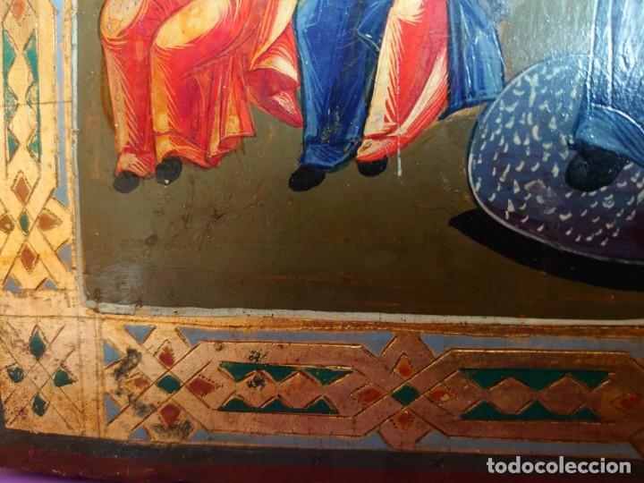 Arte: ICONO RUSO DE LA VIRGEN DE LA ALEGRIA DE TODOS LO QUE LLORAN SIGLO XIX - Foto 16 - 244516730