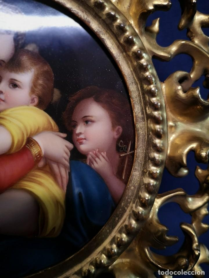 Arte: PINTURA RELIGIOSA SOBRE PLACA DE PORCELANA - Foto 4 - 244722210