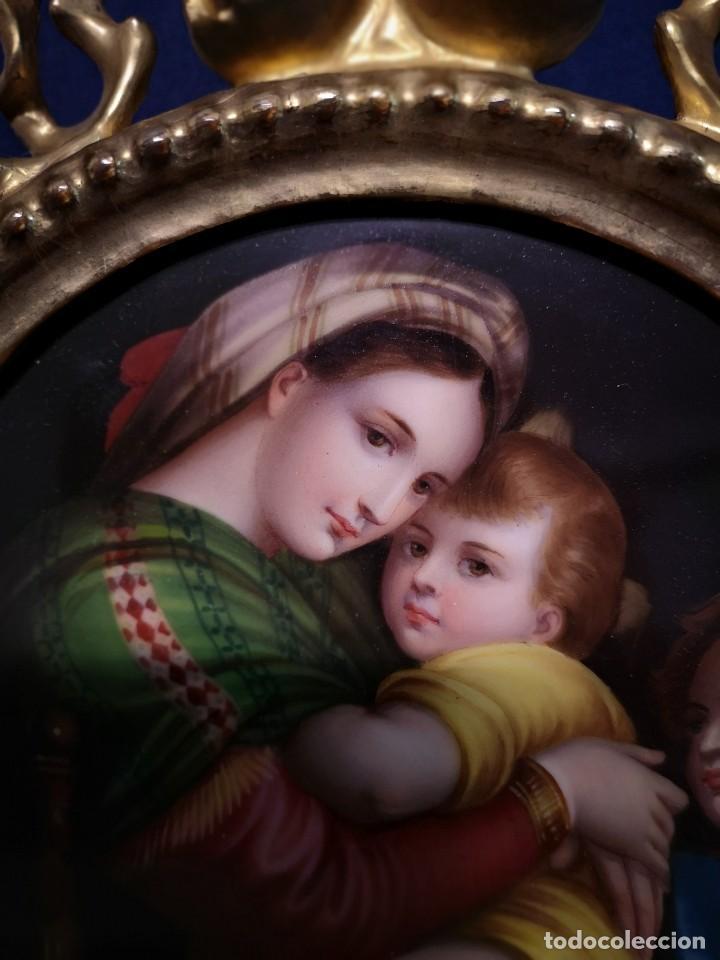 Arte: PINTURA RELIGIOSA SOBRE PLACA DE PORCELANA - Foto 5 - 244722210