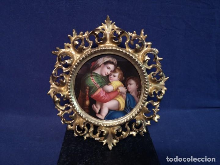 Arte: PINTURA RELIGIOSA SOBRE PLACA DE PORCELANA - Foto 13 - 244722210