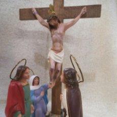 Arte: MUERTE DE JESÚS ( GRUPO 15 CM ). Lote 244776480