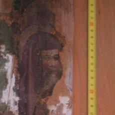 Arte: TRES TABLAS DE UN RETABLO GÓTICO CON RESTOS DE PINTURA. Lote 244879325