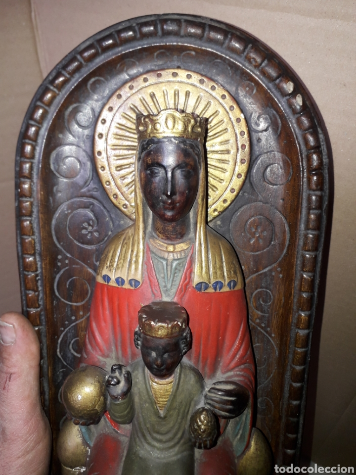 Arte: Altar Virgen de Montserrat S..XIX - Foto 2 - 245120185
