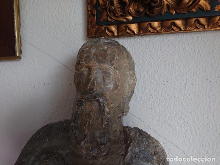 Arte: TALLA MADERA ROMANICA TARDIA SAN PABLO SIGLO XIII 73CM - Foto 5 - 245188035