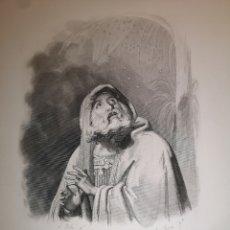Arte: GRABADO - ABRAHAM - SIGLO XIX - 17 X 24.50 CM. Lote 245400240
