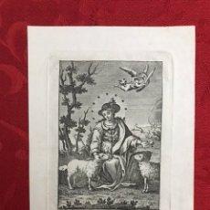 Arte: RELIGIOSO. SEVILLA. GRABADO JOSÉ MARÍA MARTÍN - IMAGEN DE LA DIVINA PASTORA. Lote 246176205