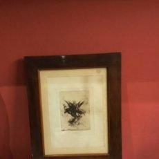 Art: ANTIGUO GRABADO ORIGINAL SIGLO XVII. LA ASUNCIÓN DE LA VIRGEN MARÍA. VER FOTOS. Lote 246499360