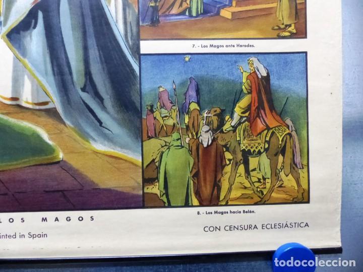 Arte: 10 LAMINAS MURALES DE HISTORIA SAGRADA, ED. SEIX BARRAL, AÑOS 1950 - VER FOTOS ADICIONALES - Foto 14 - 246644880