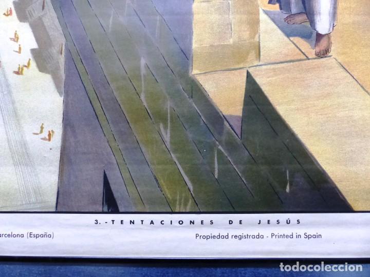 Arte: 10 LAMINAS MURALES DE HISTORIA SAGRADA, ED. SEIX BARRAL, AÑOS 1950 - VER FOTOS ADICIONALES - Foto 24 - 246644880