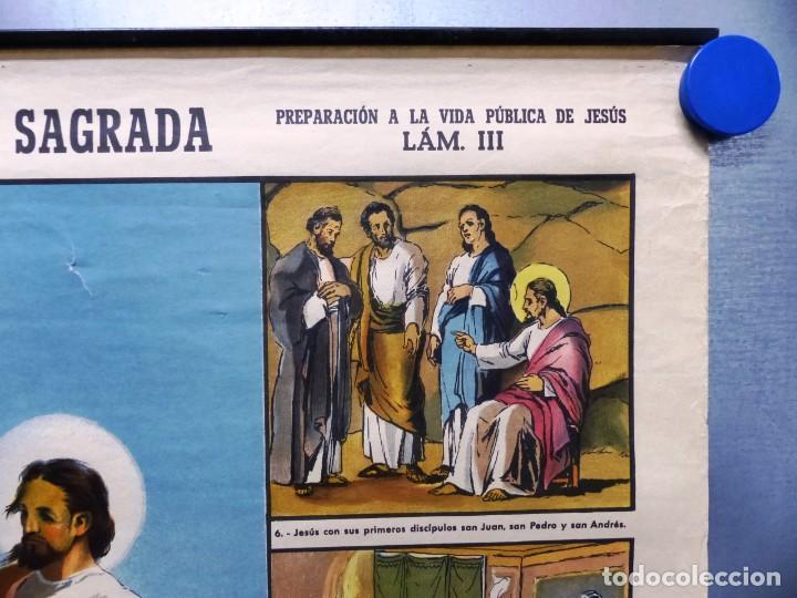 Arte: 10 LAMINAS MURALES DE HISTORIA SAGRADA, ED. SEIX BARRAL, AÑOS 1950 - VER FOTOS ADICIONALES - Foto 25 - 246644880