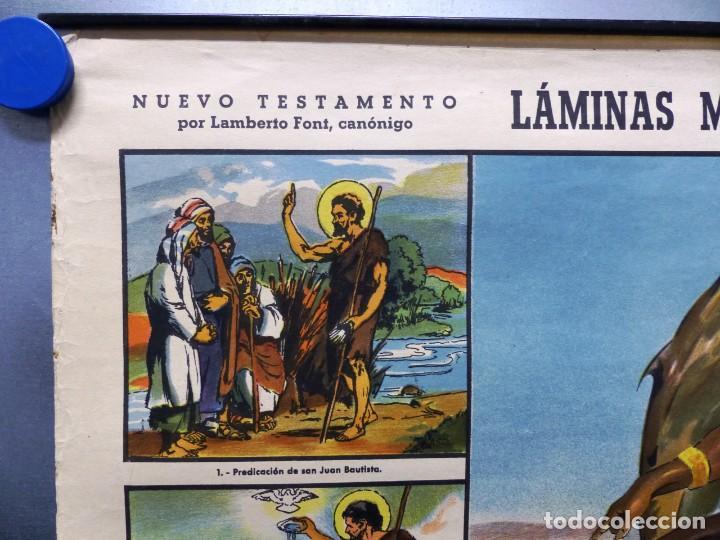 Arte: 10 LAMINAS MURALES DE HISTORIA SAGRADA, ED. SEIX BARRAL, AÑOS 1950 - VER FOTOS ADICIONALES - Foto 26 - 246644880