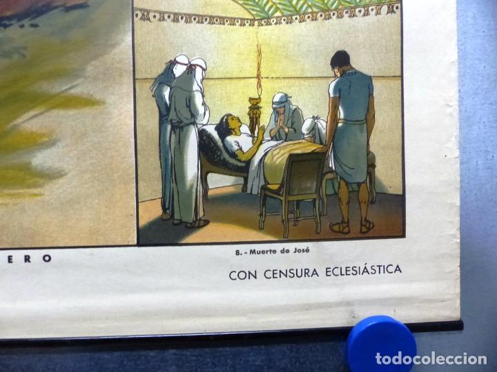 Arte: 10 LAMINAS MURALES DE HISTORIA SAGRADA, ED. SEIX BARRAL, AÑOS 1950 - VER FOTOS ADICIONALES - Foto 32 - 246644880
