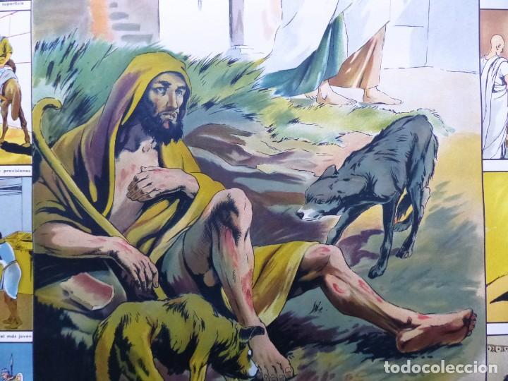 Arte: 10 LAMINAS MURALES DE HISTORIA SAGRADA, ED. SEIX BARRAL, AÑOS 1950 - VER FOTOS ADICIONALES - Foto 34 - 246644880