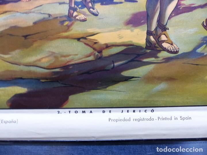 Arte: 10 LAMINAS MURALES DE HISTORIA SAGRADA, ED. SEIX BARRAL, AÑOS 1950 - VER FOTOS ADICIONALES - Foto 45 - 246644880