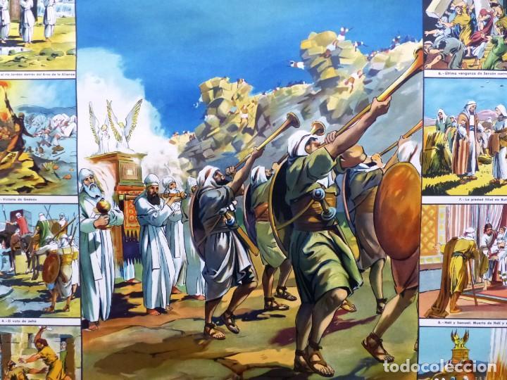 Arte: 10 LAMINAS MURALES DE HISTORIA SAGRADA, ED. SEIX BARRAL, AÑOS 1950 - VER FOTOS ADICIONALES - Foto 46 - 246644880