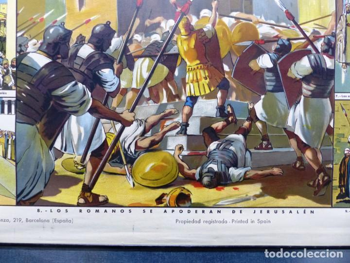 Arte: 10 LAMINAS MURALES DE HISTORIA SAGRADA, ED. SEIX BARRAL, AÑOS 1950 - VER FOTOS ADICIONALES - Foto 55 - 246644880