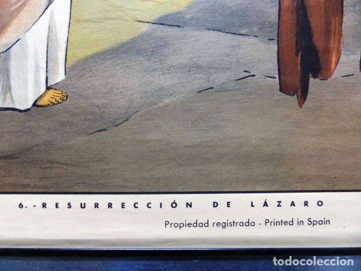 Arte: 10 LAMINAS MURALES DE HISTORIA SAGRADA, ED. SEIX BARRAL, AÑOS 1950 - VER FOTOS ADICIONALES - Foto 59 - 246644880