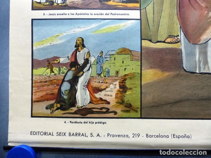 Arte: 10 LAMINAS MURALES DE HISTORIA SAGRADA, ED. SEIX BARRAL, AÑOS 1950 - VER FOTOS ADICIONALES - Foto 60 - 246644880