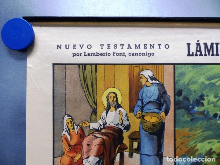 Arte: 10 LAMINAS MURALES DE HISTORIA SAGRADA, ED. SEIX BARRAL, AÑOS 1950 - VER FOTOS ADICIONALES - Foto 61 - 246644880