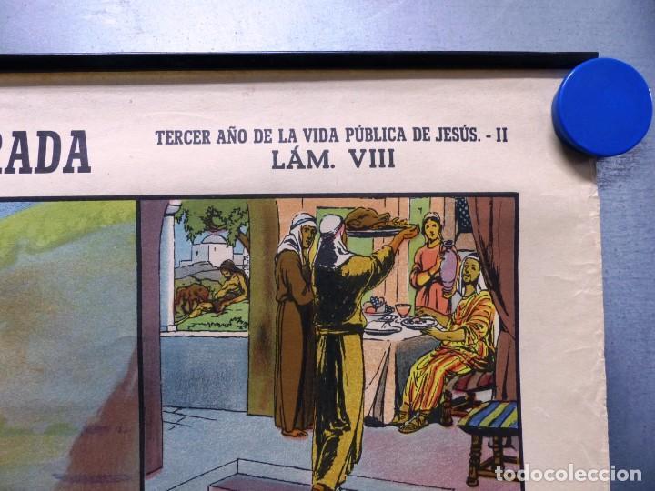Arte: 10 LAMINAS MURALES DE HISTORIA SAGRADA, ED. SEIX BARRAL, AÑOS 1950 - VER FOTOS ADICIONALES - Foto 62 - 246644880