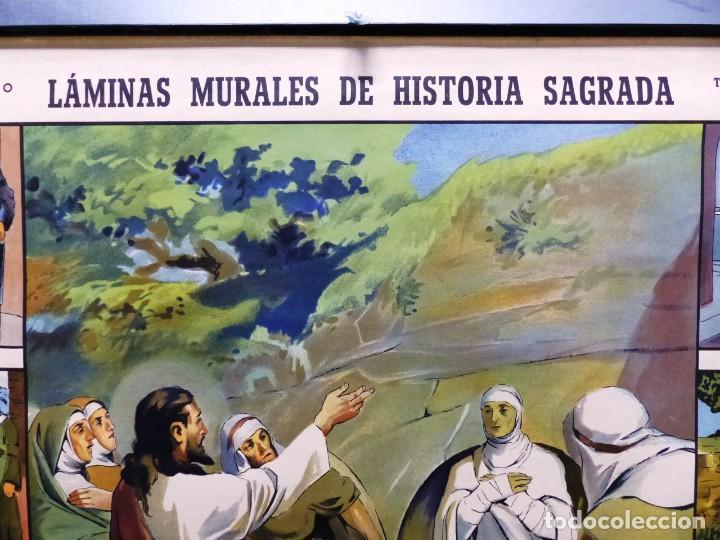 Arte: 10 LAMINAS MURALES DE HISTORIA SAGRADA, ED. SEIX BARRAL, AÑOS 1950 - VER FOTOS ADICIONALES - Foto 63 - 246644880