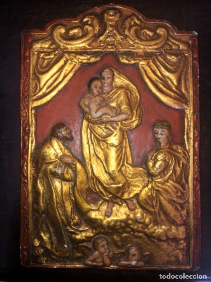 RETABLO ANTIGUO RELIGIOSO (Arte - Arte Religioso - Retablos)