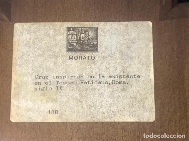 Arte: Cruz modest morato, inspirada en la cruz del Tesoro Vaticano - Foto 2 - 247228170