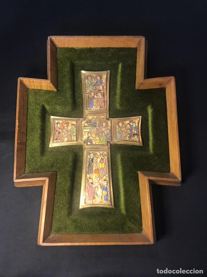 Arte: Cruz modest morato, inspirada en la cruz del Tesoro Vaticano - Foto 4 - 247228170
