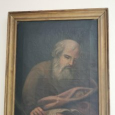 Arte: CUADRO SIGLO XVIII. ÓLEO SOBRE LIENZO. EVANGELISTA.. Lote 247984520