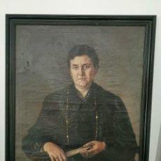 Arte: ÓLEO SOBRE LIENZO. ANTONIO MARTÍNEZ VIREL.BADAJOZ.1916. Lote 247991290