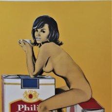 "Arte: MEL RAMOS ""PHILIP MORRIS"". Lote 248203225"