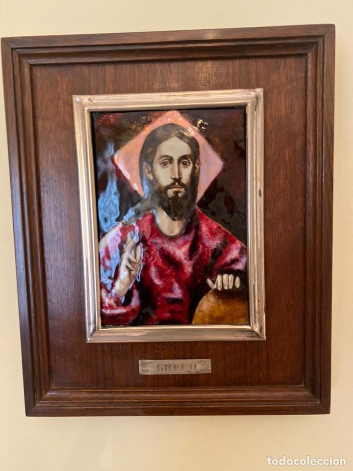 CUADRO GRECO RELIGIOSO (Arte - Arte Religioso - Pintura Religiosa - Otros)