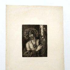 Arte: CRISTO, VARÓN DE DOLORES. ORIGINAL DE PEREDA. MUSEO NACIONAL DE PINTURAS. CUADRO Nº 584. Lote 248261925