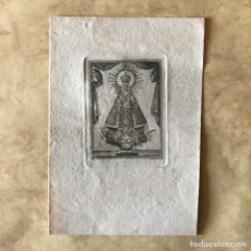 Arte: RELIGIOSO. VIRGEN. GRABADO DE M. NAVARRO - SANTA MARÍA DE GUADALUPE. Lote 248279105