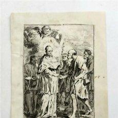 Arte: SAN LORENZO JUSTINIANO. GRABADO EN VENECIA. APPO WAGNER (MEDIADOS SIGLO XVIII). Lote 248314705