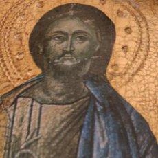 Arte: ANTIGUO ICONO RUSO SIGLO XVII PROCEDENTE DE COLECCIÓN PRIVADA PAN DE ORO MUY BUÉN ESTADO ,24 X 15CM. Lote 249551110