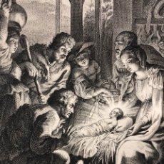 Arte: ADORACIÓN DE LOS PASTORES MANUEL SALVADOR CARMONA 1764. Lote 251053245