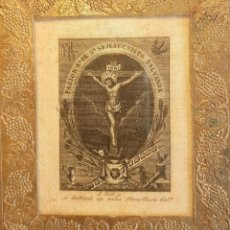 Arte: GRABADO EN SEDA DE LA PASIÓN DE NTRO. SR. JESUCRISTO VALENCIA CASA FENOLLERA. Lote 251729360