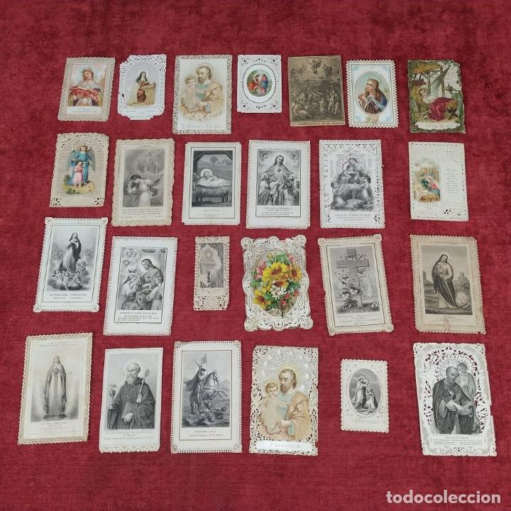 Arte: COLECCIÓN DE 42 ESTAMPAS RELIGIOSAS TROQUELADAS. ESPAÑA. SIGLO XIX-XX - Foto 4 - 251827840
