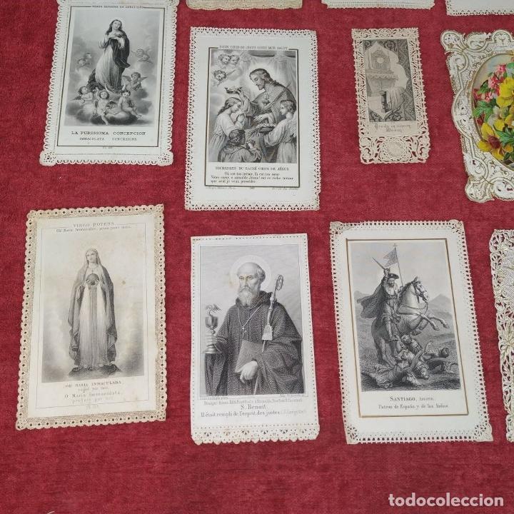 Arte: COLECCIÓN DE 42 ESTAMPAS RELIGIOSAS TROQUELADAS. ESPAÑA. SIGLO XIX-XX - Foto 7 - 251827840