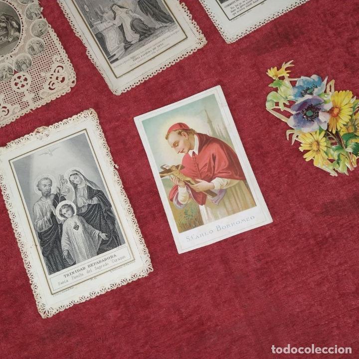 Arte: COLECCIÓN DE 42 ESTAMPAS RELIGIOSAS TROQUELADAS. ESPAÑA. SIGLO XIX-XX - Foto 11 - 251827840