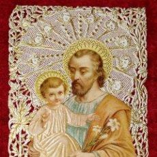 Arte: COLECCIÓN DE 42 ESTAMPAS RELIGIOSAS TROQUELADAS. ESPAÑA. SIGLO XIX-XX. Lote 251827840