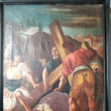 Arte: LA TERCERA CAÍDA DE JESÚS. S.XVII.. Lote 252141795